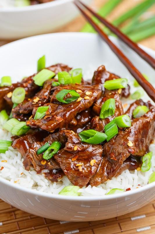 20 Minute Light Mongolian Beef