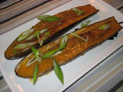 Nasu Dengaku (Eggplant Broiled in Miso)