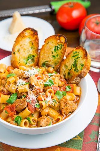 Pasta e Fagioli Soup (Italian Pasta and Bean Soup)