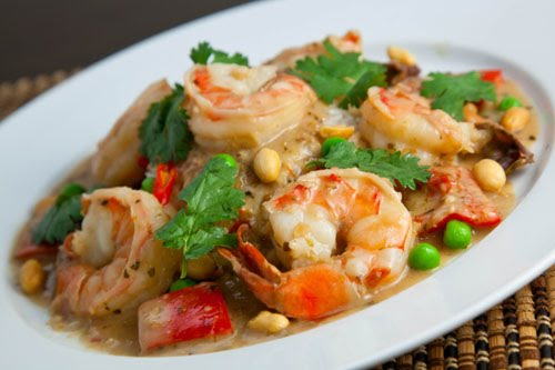 Panang Kung (Panang Prawn Curry)