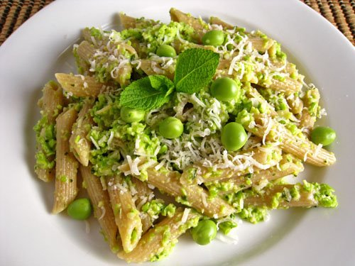 Fresh Pea and Mint Pesto