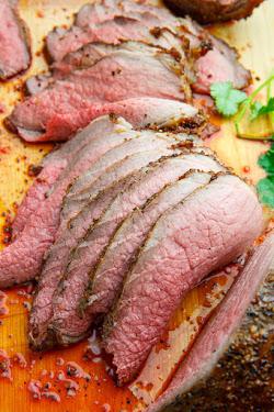Perfect Eye of Round Roast Beef