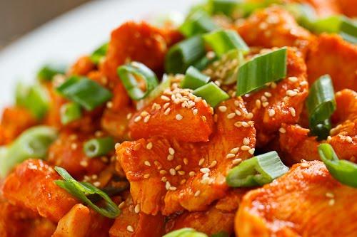 Pineapple Dak Bulgogi (Pineapple Korean BBQ Chicken)