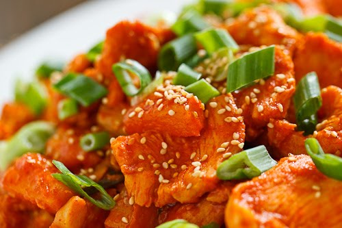 Pineapple Dak Bulgogi (Pineapple Korean BBQ Chicken)