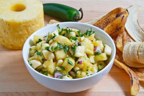Pineapple and Banana Salsa