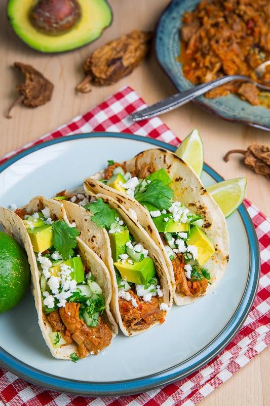 Pork Tinga Tacos