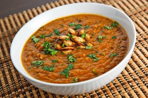 Pumpkin and Black Bean Soup