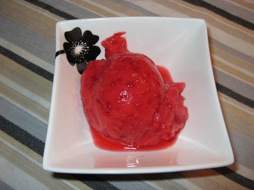 Raspberry Sorbet