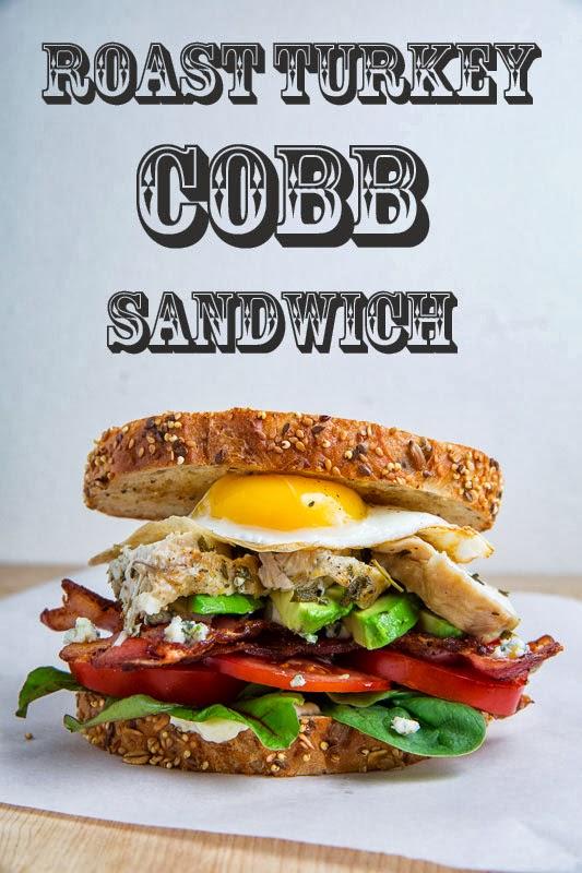Roast Turkey Cobb Sandwich