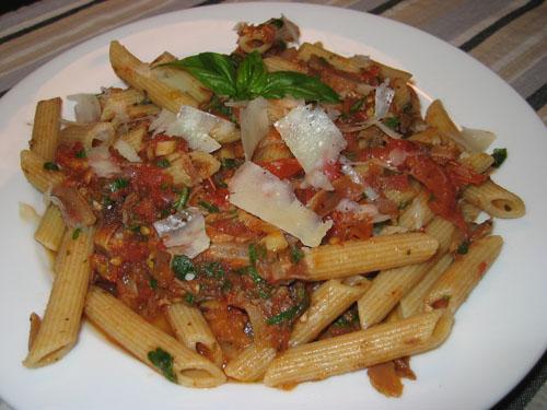 Roasted Tomato Pasta