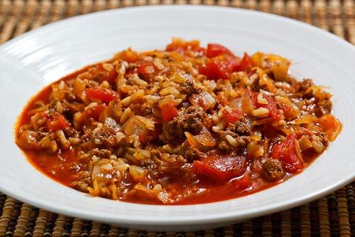 Sauerkraut Cabbage Roll Soup