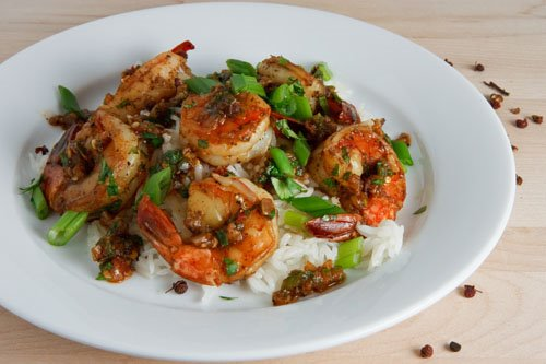 Sichuan Peppercorn Shrimp