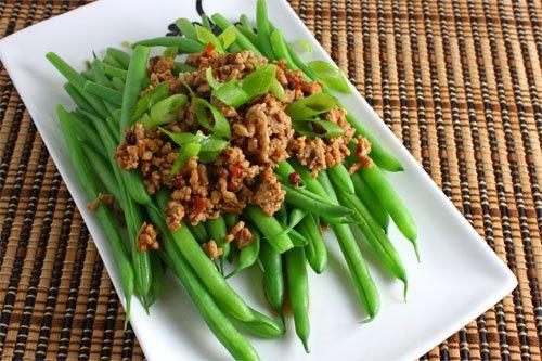 Green Beans with Sichuan Pork