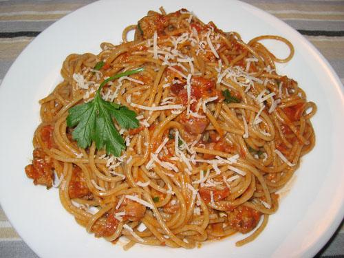 Bolognese Spaghetti alla Carbonara
