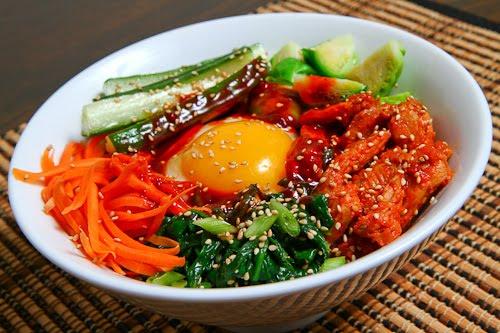 Spicy BBQ Chicken Bibimbap