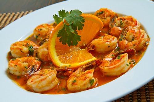 Spicy Orange Shrimp