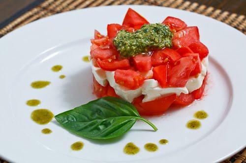Diced Caprese Salad