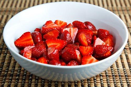 Strawberries in Balsamic Vinegar