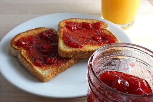 Strawberry and Rhubarb Jam