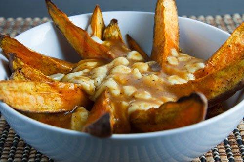 Sweet Potato Poutine