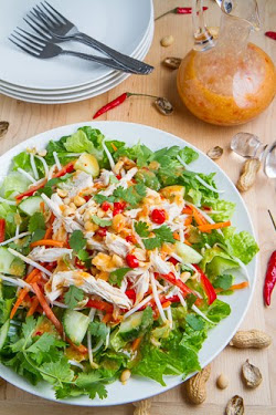 Sweet Chili Chicken Salad