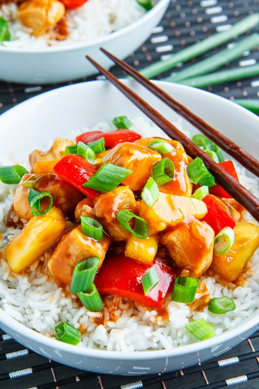 20 Minute Light Sweet and Sour Chicken