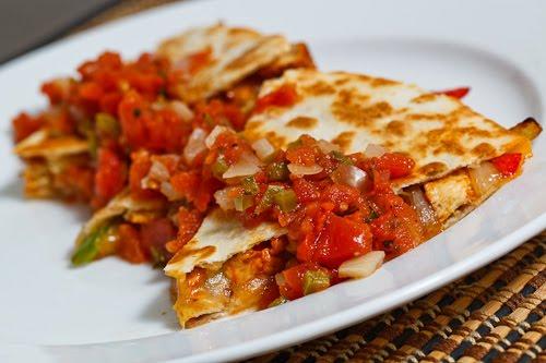 Tandoori Chicken Quesadillas