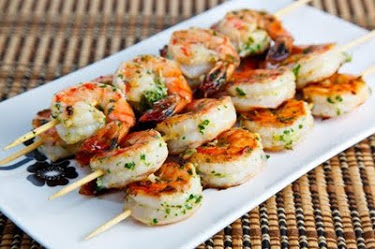 Tom Yum Grilled Shrimp
