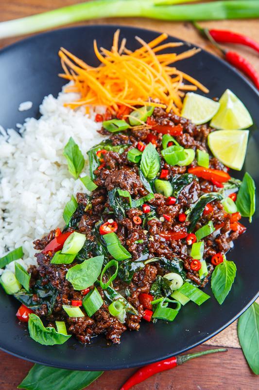 20 Minute Thai Basil Beef