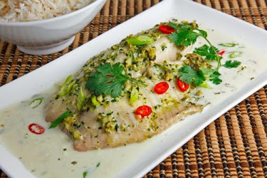 Tom Yum Baked Tilapia