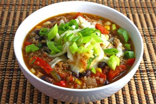 Black Bean and Quinoa Chili