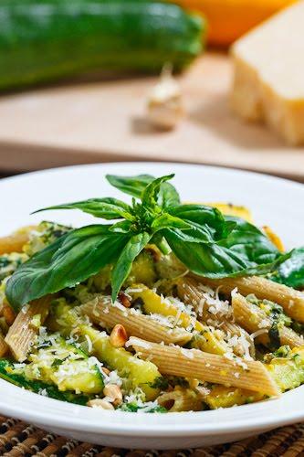 Zucchini Pistou Pasta