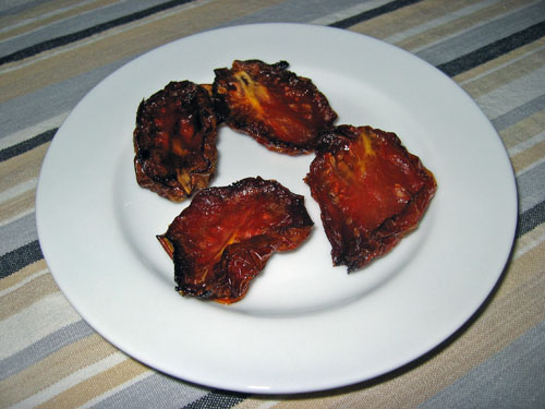 Slow Roasted Tomatoes (Homemade Sundried Tomatoes)