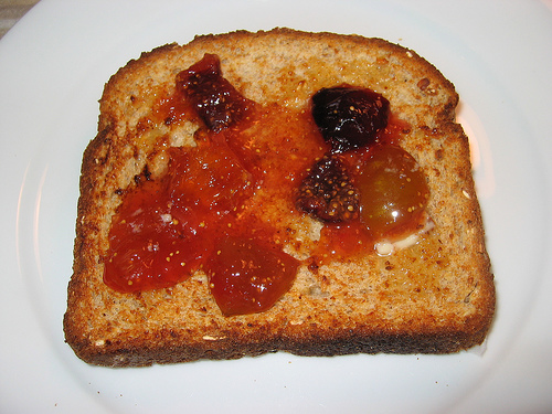 Fig Jam on Toast