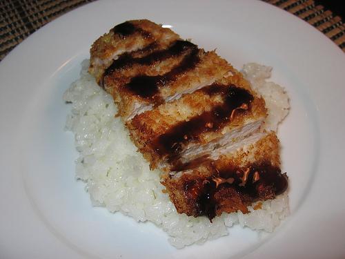 Tonkatsu with Tonkatsu Sauce