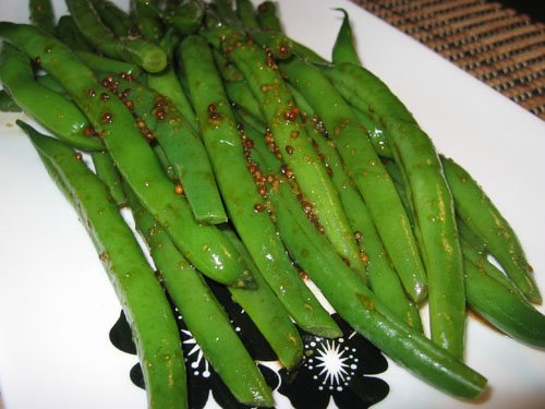 Maple Dijon Green Beans