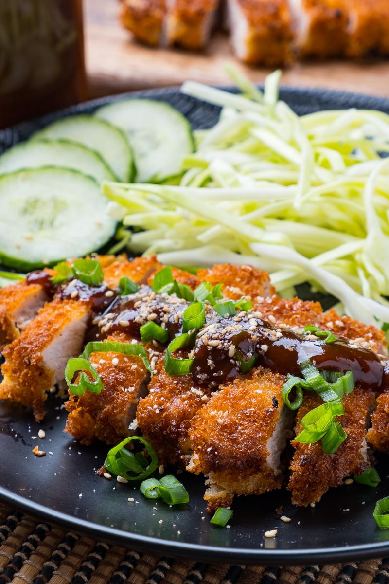 Tonkatsu (Japanese Pork Cutlets)