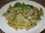 Basil Pesto on Penne