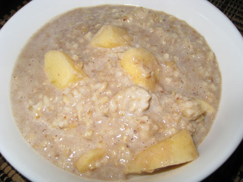 Apple Crisp Oatmeal