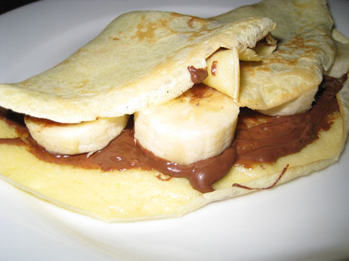 Banana And Nutella Crepes Closet Cooking