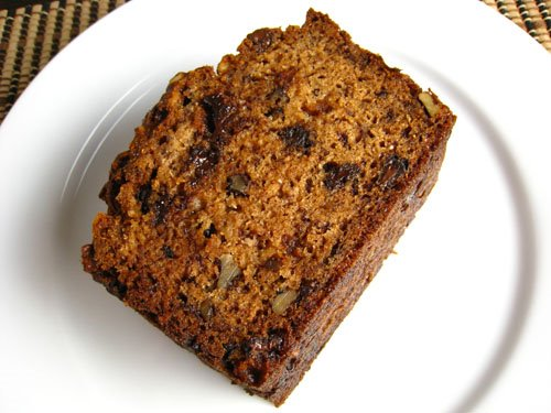 Chocolate Chip and Sour Cream Banana Bread