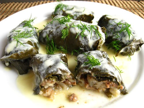 Dolmades Stuffed Grape Leaves Closet Cooking