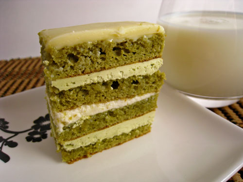 Green Tea Buttercream