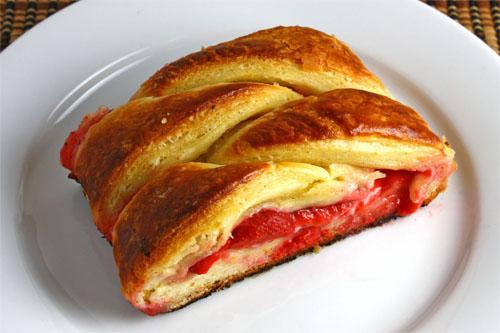 Strawberry Danish Braid