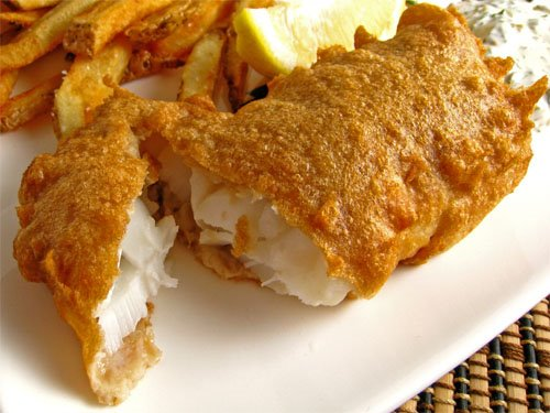Beer Battered Fish (Fish and Chips)