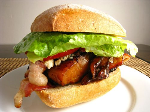 Teriyaki Black Cod Burger