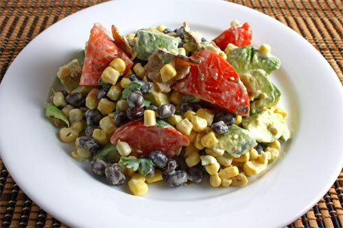 Avocado and Sweet Corn Salad