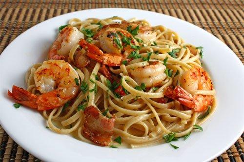 Shrimp Carbonara