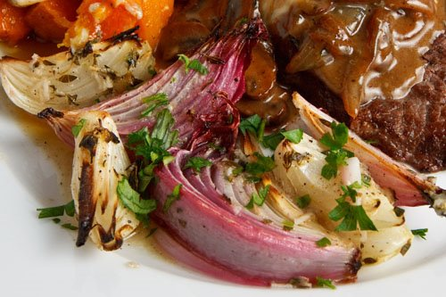 Herb Roasted Onions