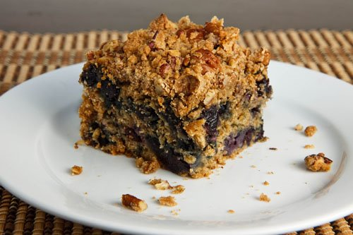 Blueberry Crumb Coffeecake